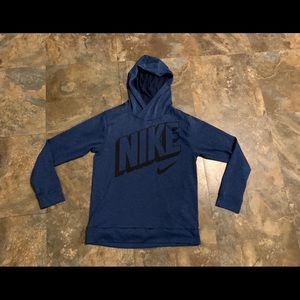 Nike Dri-Fit Medium long sleeved Tee shirt hooded